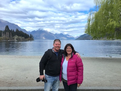 Gayle and Dean Queenstown