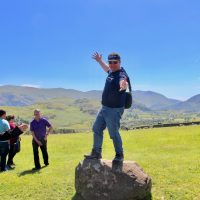 Dean at Castlerigg