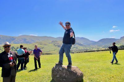 Dean at Castlerigg
