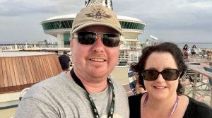 Gayle and Dean on the Voyager of the Seas, Royal Caribbean